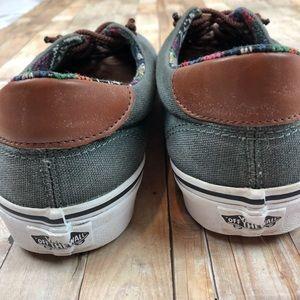 Vans Shoes - Vans Men's Era 59 Gray Size 10 Leather Cap Shoes